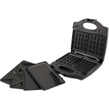 Cендвичница-вафельница-гриль 3 в 1 Esperanza EKT006K Portabella black 700 Вт