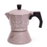 Кофеварка 150 мл алюминиевая гейзерная с индукционным дном Kamille 2516