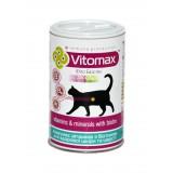 Витаминно-минеральный комплекс Vitomax для шерсти котов с биотином 300 таблеток (200060)