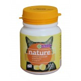 Поливитаминный комплекс Vitomax Nature с сыром для кошек 100 таблеток (201494)