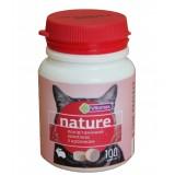 Поливитаминный комплекс Vitomax Nature с кроликом для кошек 100 таблеток (201487)